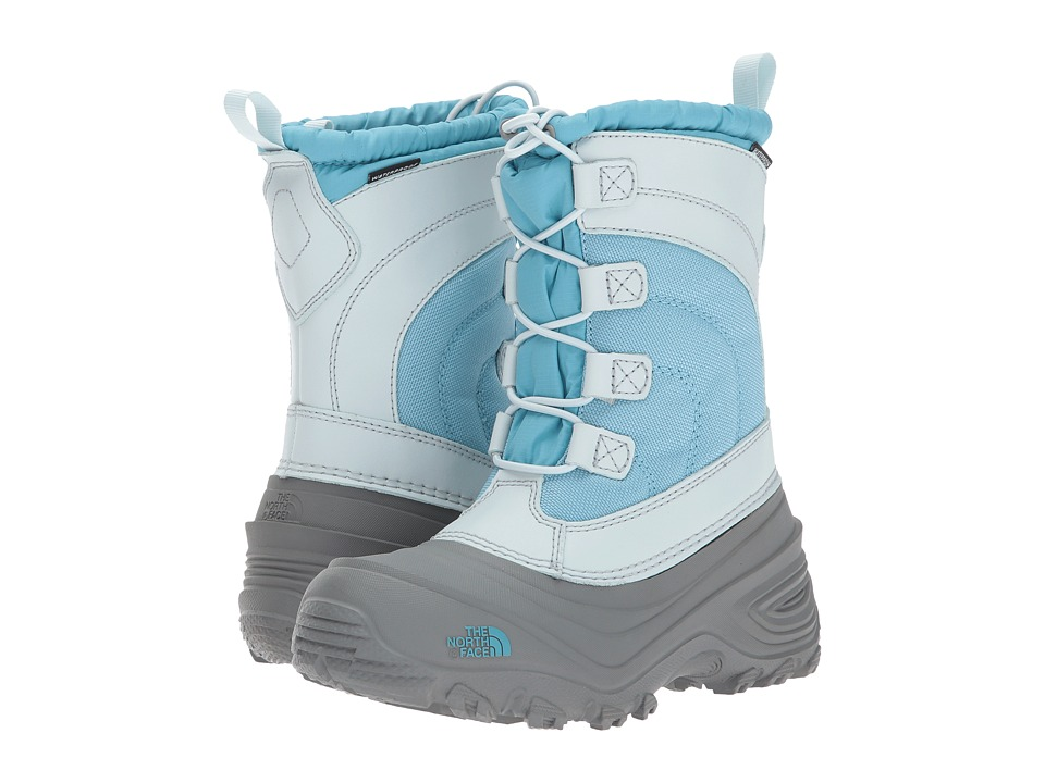The North Face Kids Alpenglow IV (Toddler/Little Kid/Big Kid) (Blizzard Blue/Icee Blue) Girls Shoes