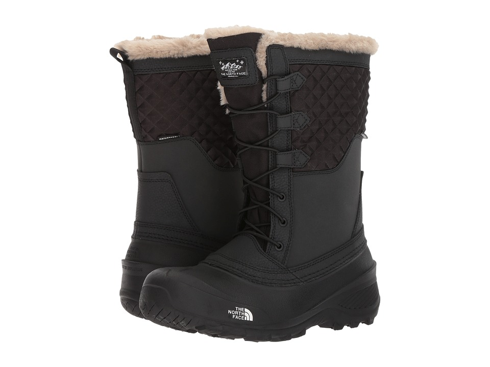 The North Face Kids Shellista Lace III (Toddler/Little Kid/Big Kid) (TNF Black/TNF Black) Girls Shoes