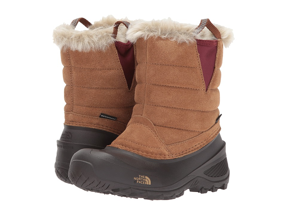 The North Face Kids Shellista Pull-On III (Toddler/Little Kid/Big Kid) (Tagumi Brown/Barolo Red) Girls Shoes
