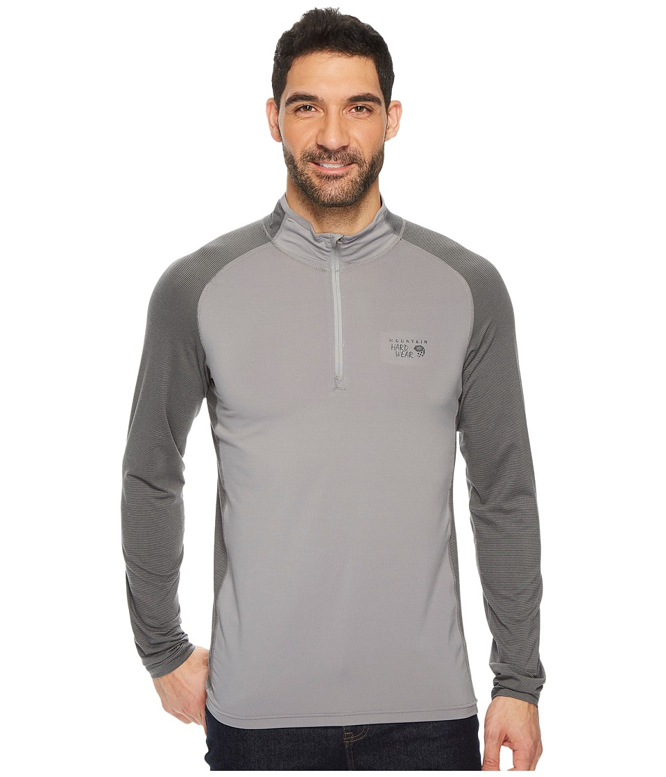 Mountain Hardwear Butterman 1/2 Zip Top (Manta Grey) Men