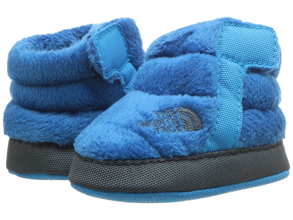 The North Face Kids NSE Fleece Bootie (Infant/Toddler) (Blue Aster/Dark Slate Blue) Boys Shoes