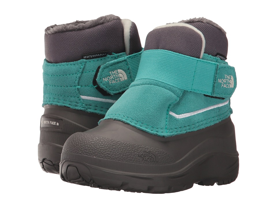 The North Face Kids Alpenglow (Toddler) (Vistula Blue/Vaporous Grey) Girls Shoes