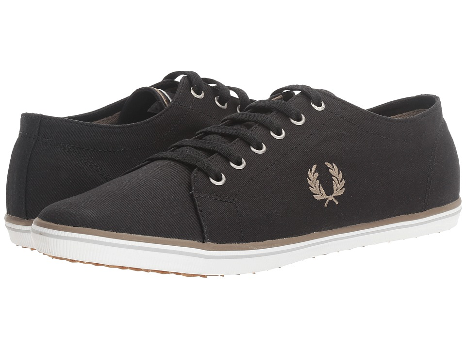 Fred Perry Kingston Twill (Black/Driftwood/Dolphin) Men