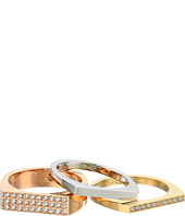 Fossil - Glitz Bar Ring Trio