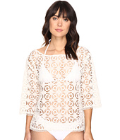 Nicole Miller - La Plage By Nicole Miller Crochet Beach Cover-Up