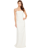 Nicole Miller - Felix Techy Crepe Strapless Gown
