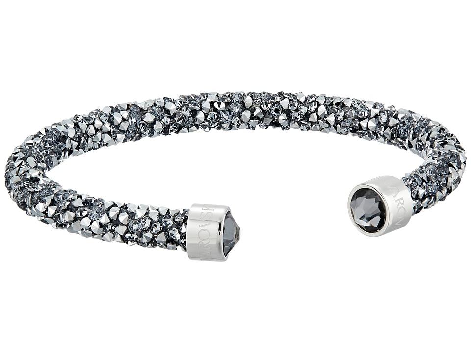 Swarovski - Crystaldust Cuff Bracelet (Grey) Bracelet