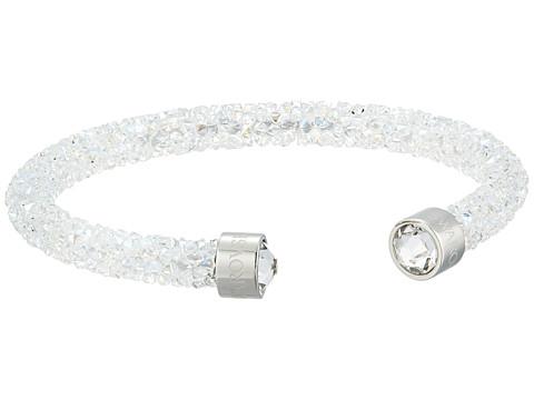 Swarovski Crystaldust Cuff Bracelet - White