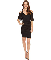 Nicole Miller - Cosmo Flutter Sleeve Dress