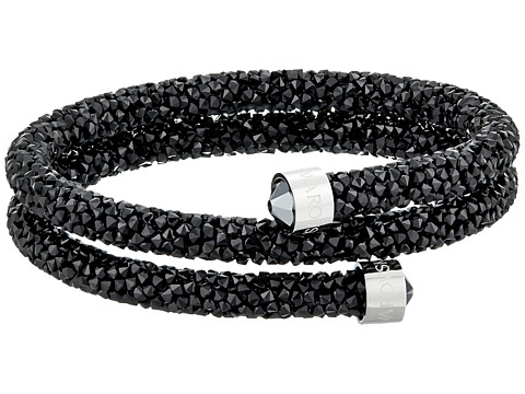 Swarovski Crystaldust Bangle Bracelet - Black
