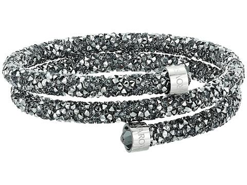 Swarovski Crystaldust Bangle Bracelet - Grey