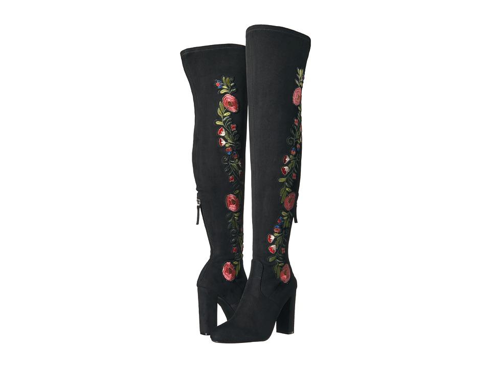 Steve Madden-Envoke  (Black) Womens Boots