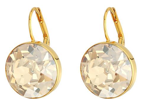 Swarovski Bella Pierced Earrings - Gold