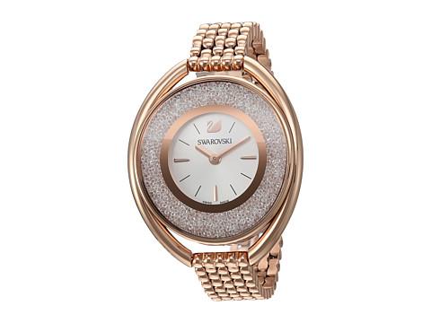 Swarovski Crystalline Oval Watch - Gold
