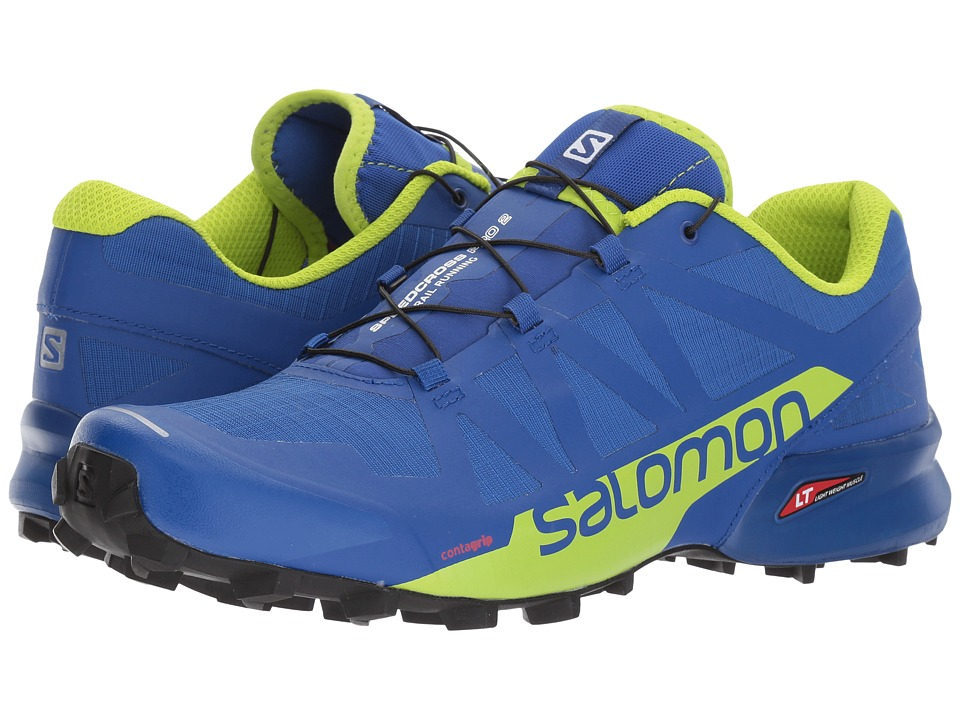 Salomon Speedcross Pro 2 (Surf The Web/Lime Green/Black) Men