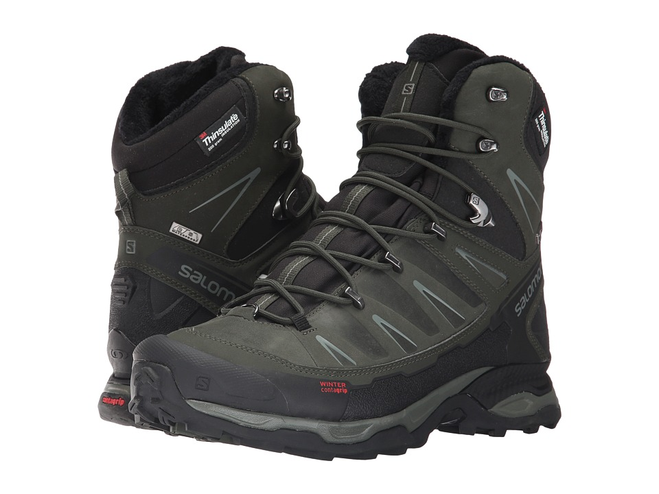 Salomon X Ultra Winter CS WP (Black/Rosin/Castor Gray) Me...