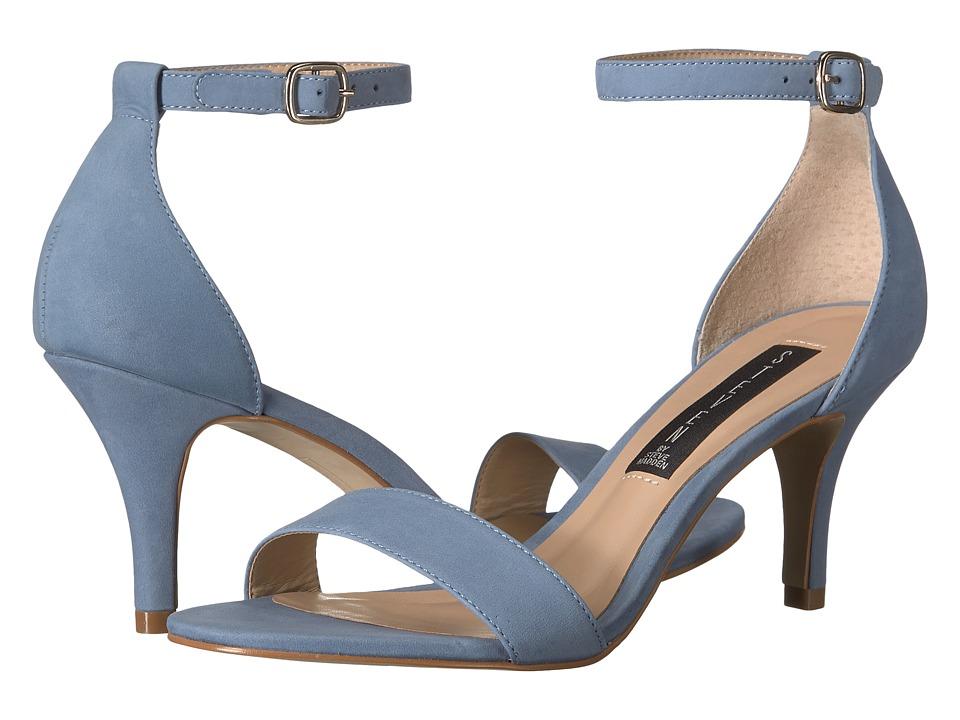 Steven Viienna (Blue Nubuck) High Heels