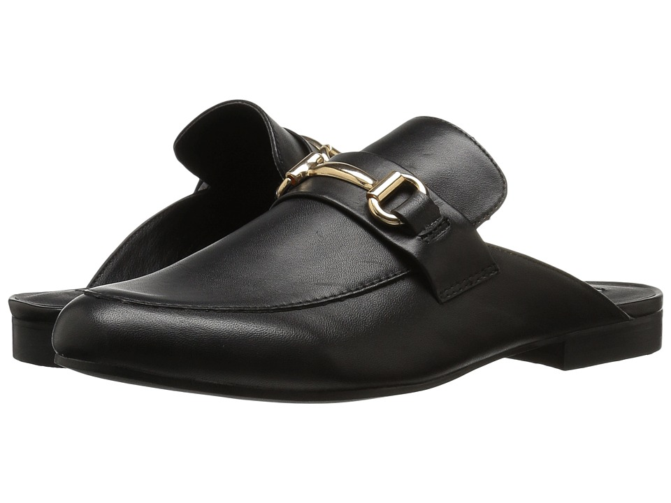 Steve Madden Kandi (Black Leather) Women's Shoes