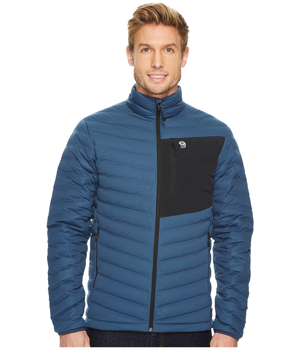 Mountain Hardwear - StretchDown Jacket (Zinc) Mens Coat