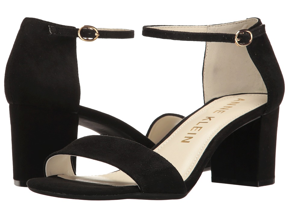 Anne Klein Camila (Black Suede) Women