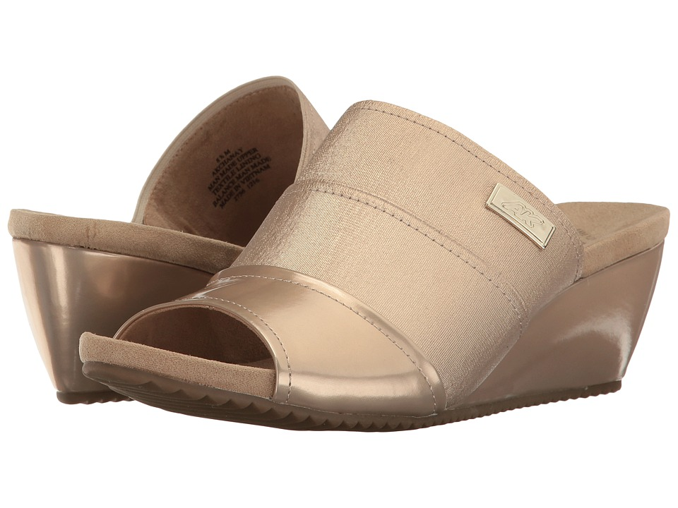 Anne Klein - Chanay (Light Natural Fabric) Womens Shoes