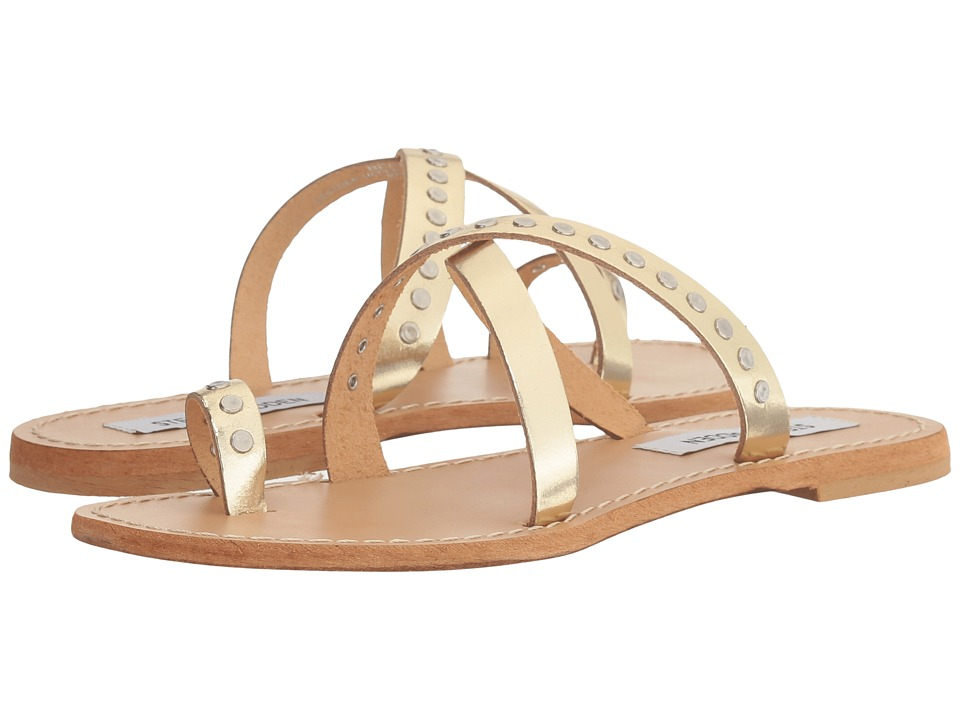 Steve Madden Becky (Gold Leather) Women