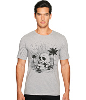 The Kooples - Black Palm Tree Skull T-Shirt