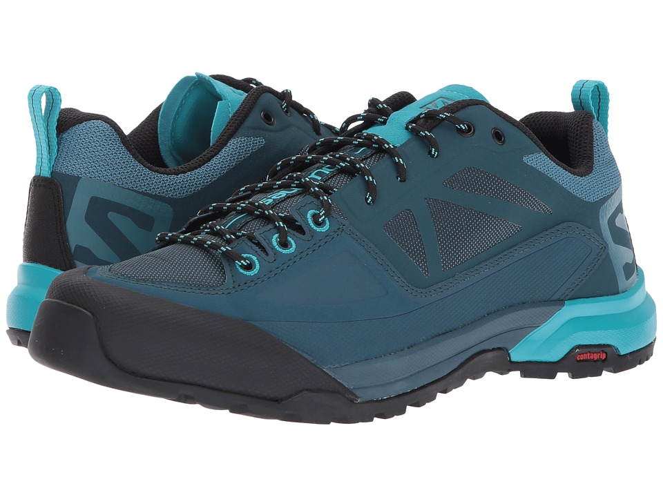 Salomon X Alp Spry (Mallard Blue/Reflecting Pond/Blue Bird) Women's Shoes