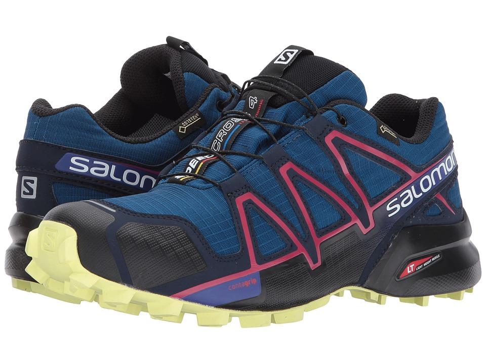Salomon Speedcross 4 GTX (Poseidon/Virtual Pink/Sunny Lime) Women