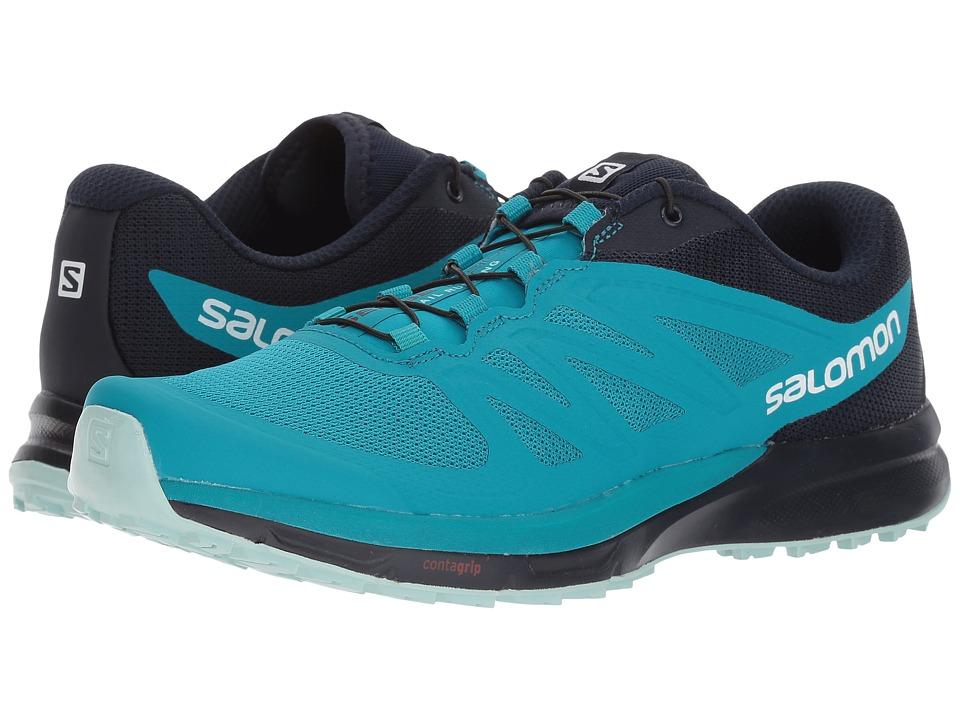 Salomon Sense Pro 2 (Enamel Blue/Navy Blazer/Eggshell Blue) Women