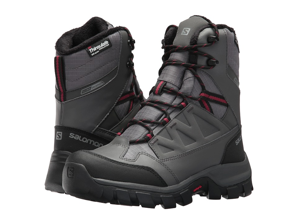 Designer For Sale Mens Boots - Salomon Toundra Pro Cs Wp Black/Black/Autobahn