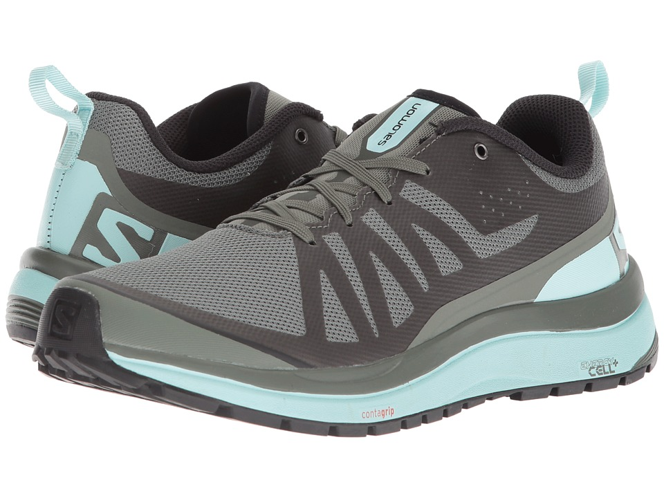 Salomon Odyssey Pro (Castor Gray/Eggshell Blue/Black) Women's Shoes