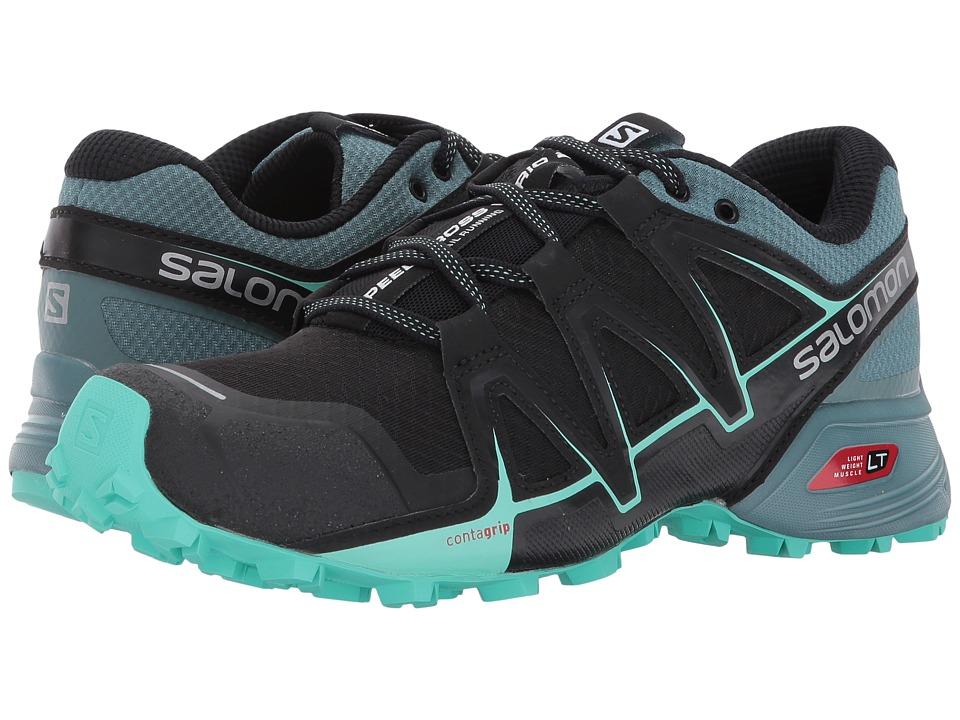 Salomon Speedcross Vario 2 (Black/North Atlantic/Biscay Green) Women