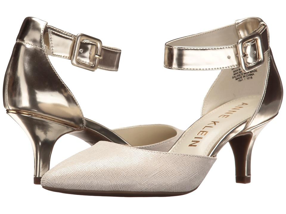 Anne Klein Fabulist (Silver/Ivory Synthetic) High Heels