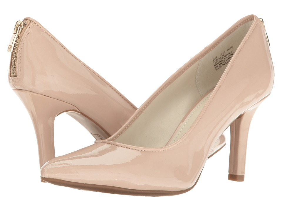 Anne Klein Falicia (Natural/Natural Patent) High Heels