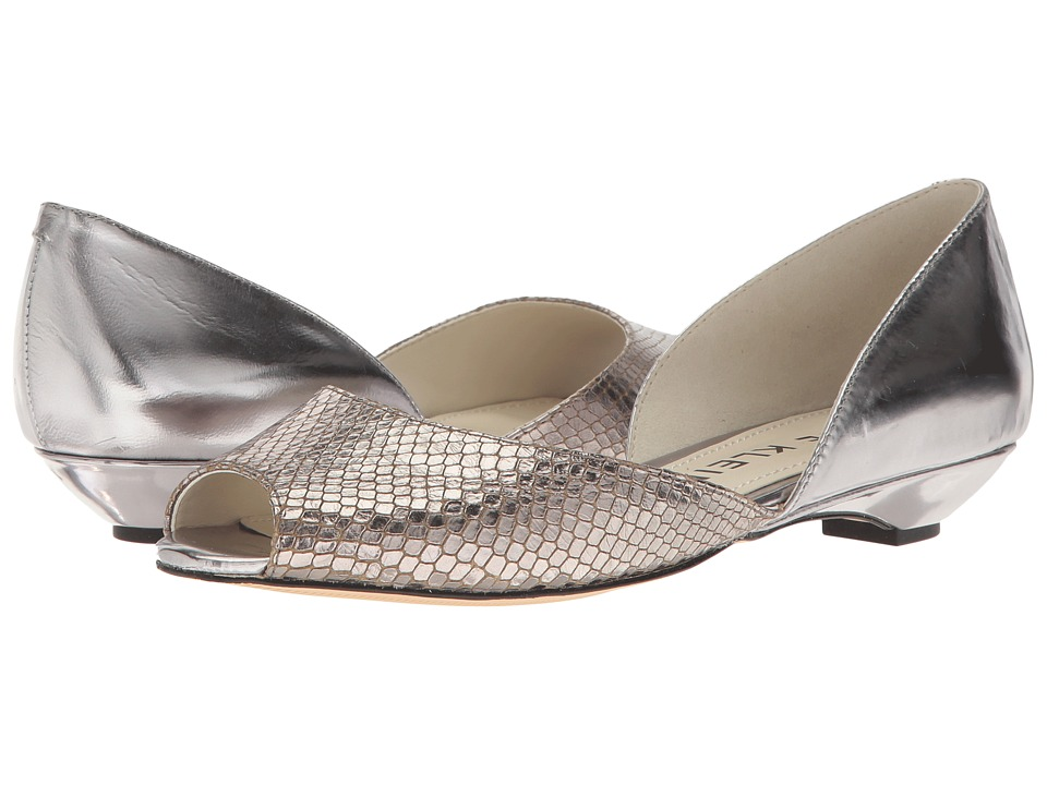 Anne Klein - Fanetta (Dark Silver/Pewter Leather) Womens Shoes
