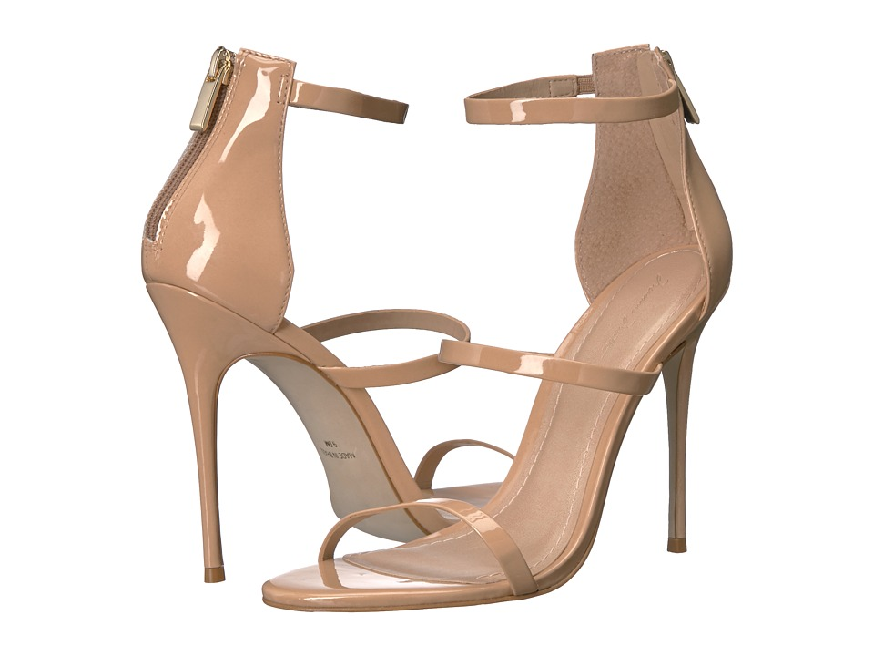 Massimo Matteo 3 Band Stiletto (Nude Patent) Women