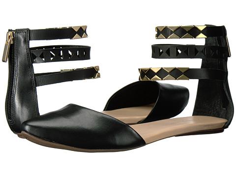 Massimo Matteo Ankle Strap Sandal - Black