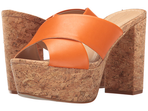 Massimo Matteo Cork Platform Sandal - Ambar