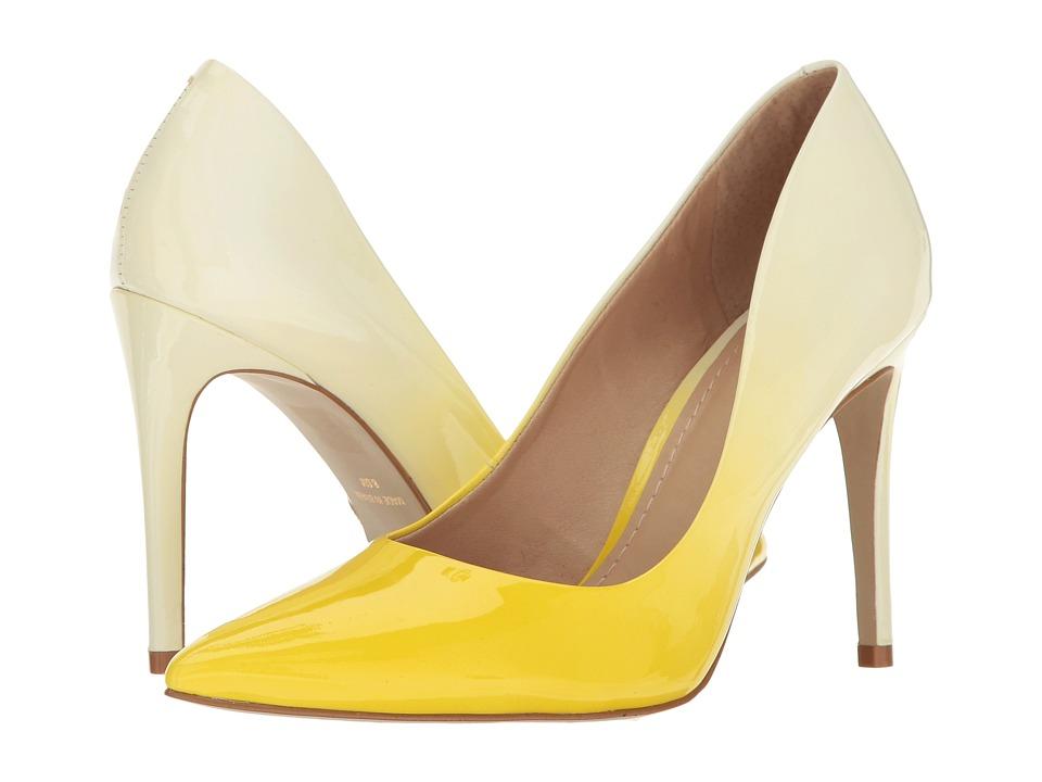 Massimo Matteo Mid Heel Pump (Sunshine) Women