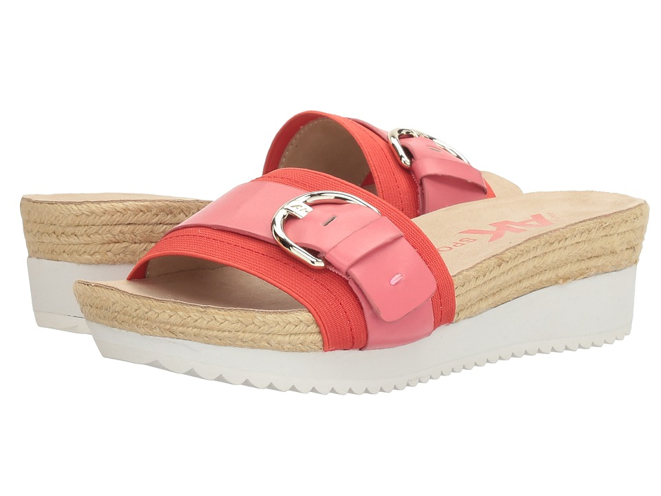 Anne Klein - Quoter (Coral/Medium Orange Synthetic) Womens Shoes