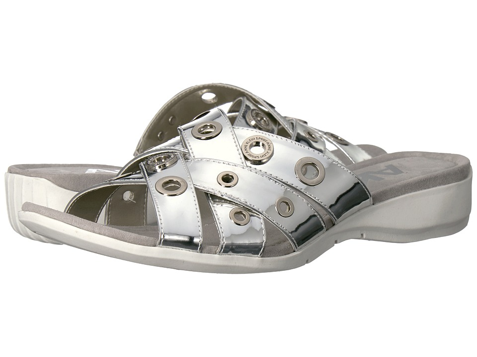 Anne Klein - Kandis (Silver Synthetic) Womens Shoes
