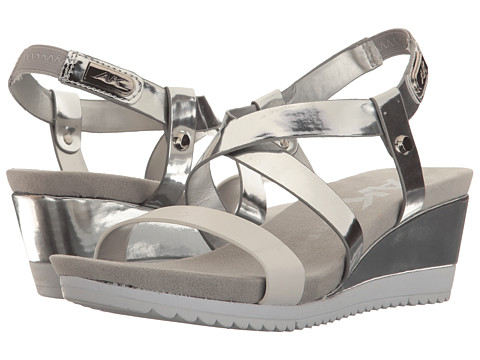 Anne Klein Shanni - Silver/White Synthetic