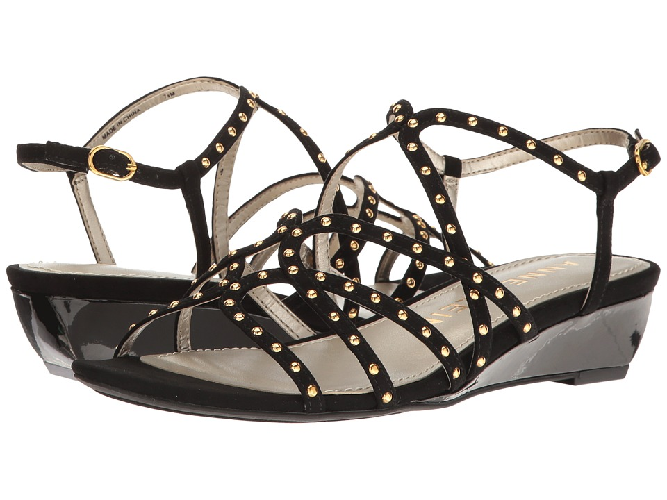 Anne Klein - Mallory (Black Fabric) Womens Shoes