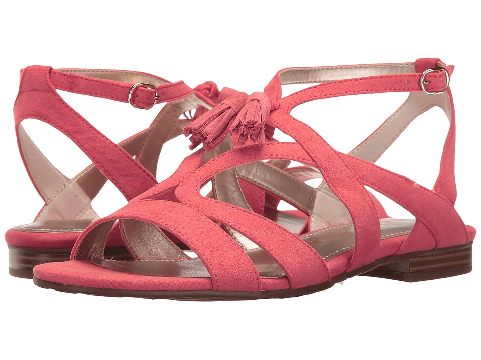 Anne Klein - Noreena (Coral Fabric) Womens Shoes