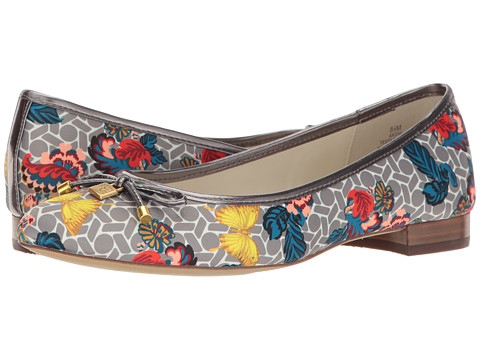 Anne Klein Ovi - Grey Multi/Pewter Fabric Butterfly Print