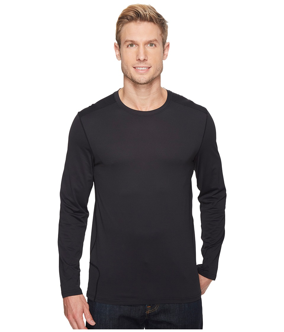ExOfficio Give-N-Go Performance Base Layer Crew (Black) Men