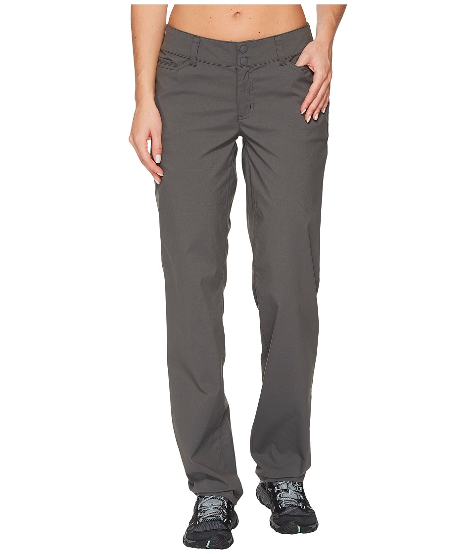 ExOfficio - Venture Pants (Dark Pebble) Womens Clothing