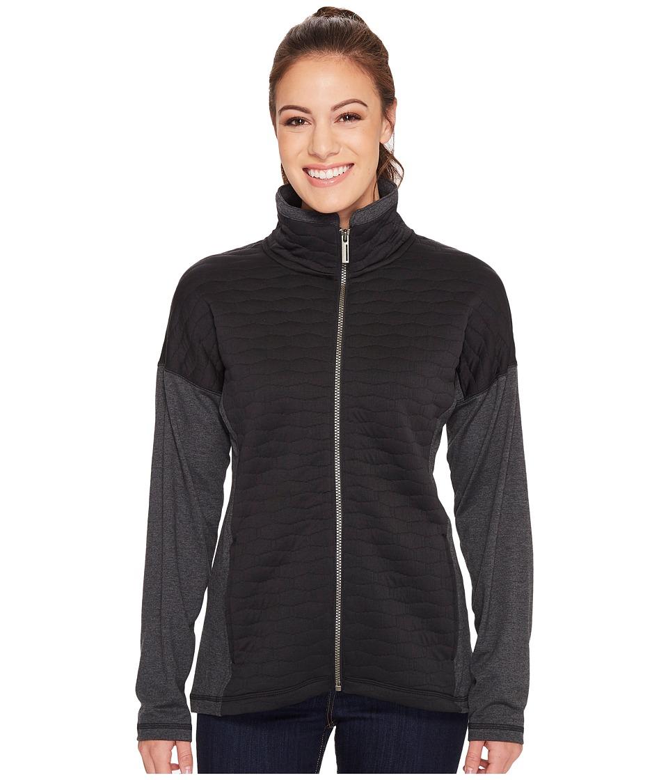 ExOfficio Kelowna Full Zip Jacket (Black) Women