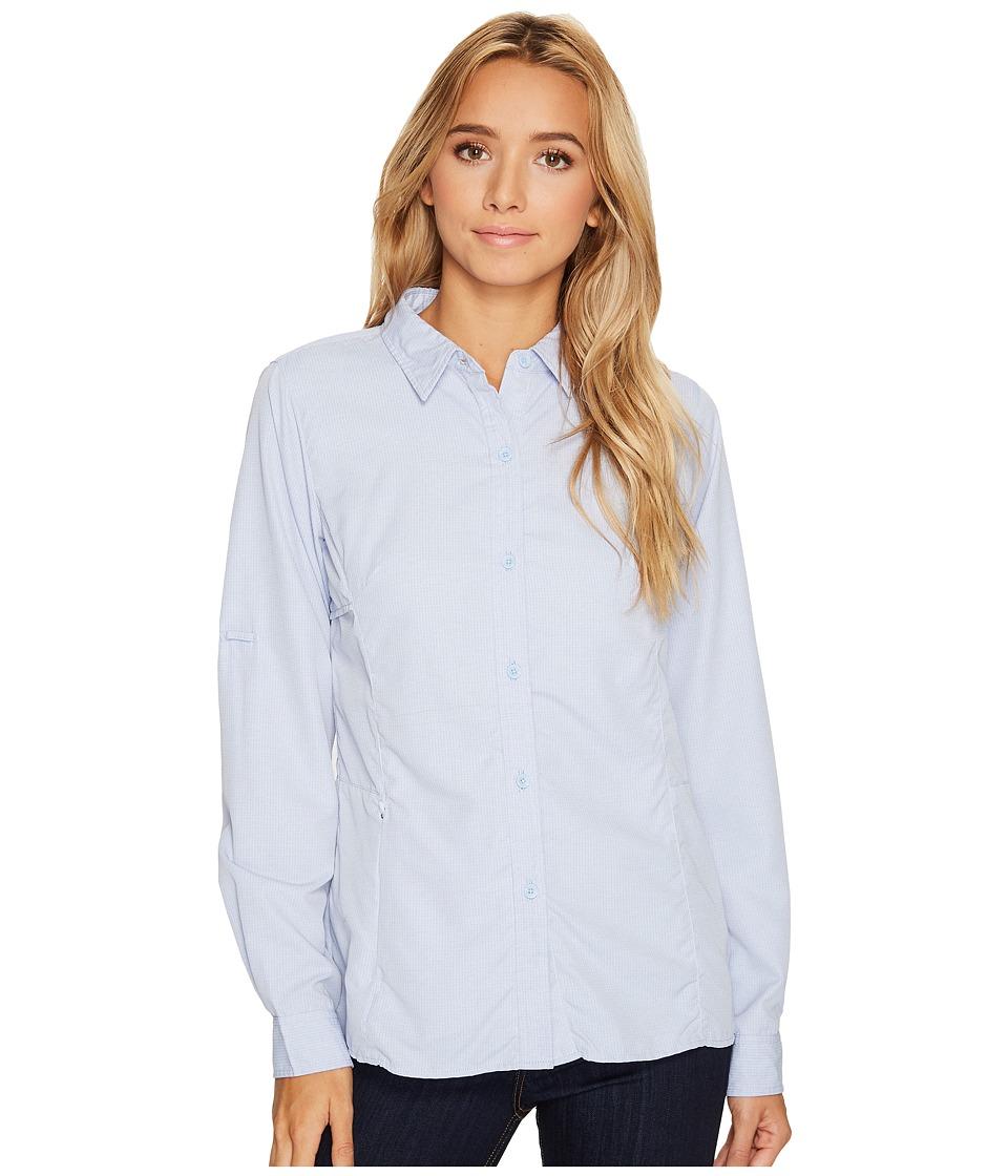 ExOfficio BugsAway Viento Long Sleeve Shirt (Capri Blue) Women